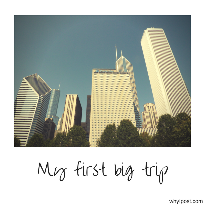 My first big trip overseas – How it all started