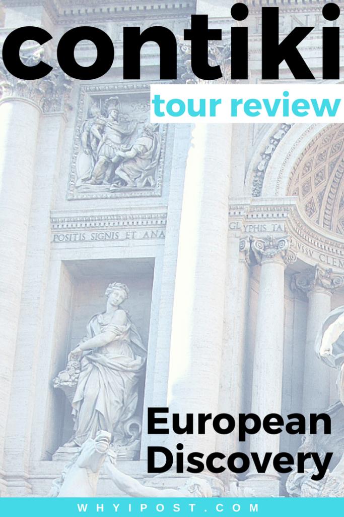 Contiki Europen Discovery Tour Review