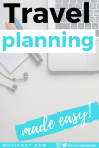 Travel Planning Resources by Why I Post